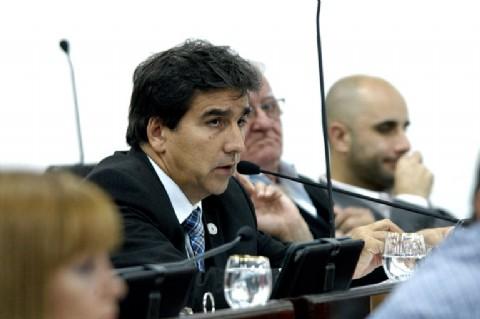 S�nchez conf�a en que el peronismo consensuar� una lista de unidad. Ricardo S�nchez, presidente del Bloque de Diputados del PJ.