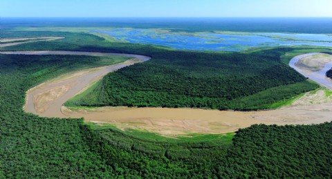 """Miraflores ser� sede por el """"D�a de los Parques Nacionales"""" . Vista a�rea de �La Fidelidad�, nuevo Parque Nacional."""