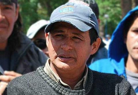 Dirigente social del Chaco denuncia que lo quieren matar. Dirigente social chaque�o Tito L�pez.