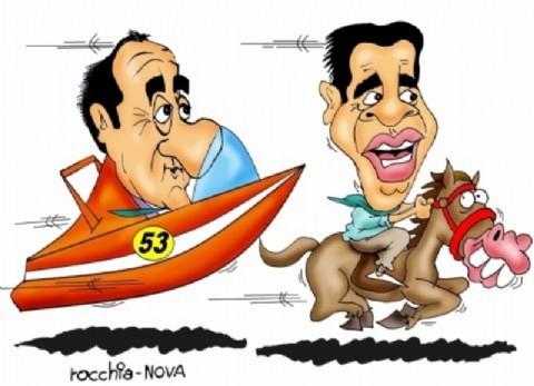 En el Chaco ya est� todo dicho�. Jorge Capitanich y Daniel Scioli arrasan en la provincia (Dibujo: NOVA).