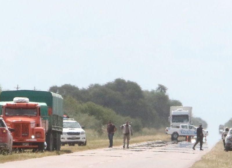 Castelli: una mujer perdió la vida en un accidente de tránsito