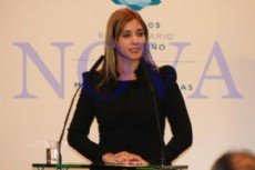 Intendenta de Laguna Blanca, Claudia Panzardi.