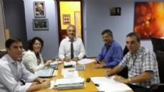 Peppo junto al equipo t�cnico de IPDUV en su estad�a en Buenos Aires.