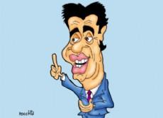 Jorge Capitanich (Dibujo: NOVA).