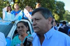 Domingo Peppo, candidato a gobernador de la provincia por el Frente Chaco Mrece M�s.