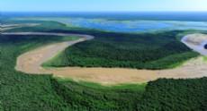 Vista a�rea de �La Fidelidad�, nuevo Parque Nacional.
