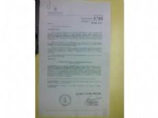 Imagen de la copia de los contratos millonarios que habr�a firmado Ayala, por los pr�ximos ocho a�os una maniobra que involucra m�s de 269 millones y no ser�a el �nico.