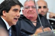 Ricardo S�nchez, presidente del bloque Justicialista de la Legislatura provincial.