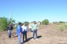 Nievas recorre e inspecciona las obras donde el municipio trabaja para mejorar la ciudad.