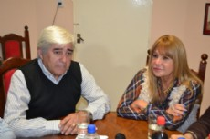 A�da Ayala visit� a su par de Pinedo en el marco de las visitas que viene realizando por el interior provincia.