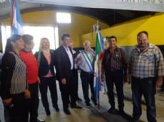 Sergio Massa visit� el Partido Renovador Federal.