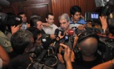 An�bal Fern�ndez en Resistencia brind� apoyo al Frente Chaco Merece M�s.