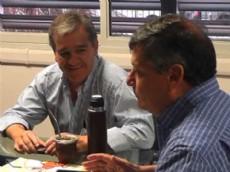Domingo Peppo y Alberto Nievas arrasaron en Castelli en las Primarias.
