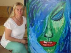 Estela Zelaya, artista.
