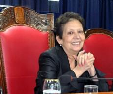 Beatriz V�squez, vicepresidenta primera de la Legislatura provincial.