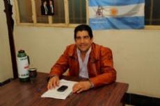 Juan Carlos Ayala, candidato a intendente portuario por el frente justicialista.