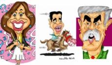 Cristina Kirchner, Jorge Capitanich y Julio De Vido. (Dibujo: NOVA)