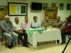 """Nievas en conferencia de prensa present� el evento del """"2� Encuentro de Artesanos""""."""