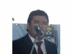 """Jos� Luis """"Telo"""" Rodr�guez uno de los candidatos por el """"Frente Chaco Merece M�s""""."""