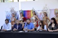 "Presentaci�n oficial a un d�a del inicio de los ""Supercanavales 2015""."