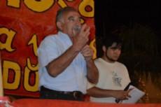 Aurelio D�az, candidato a diputado por el Partido Obrero.