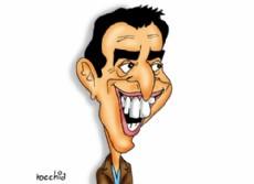 L�der del FR, Sergio Massa. (Dibujo: NOVA)