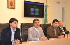 Jorge Capitanich anunci� el balance fiscal a trav�s de una conferencia de prensa.