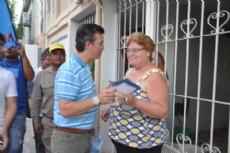 Aguilar contin�a con sus recorridas proselitistas.
