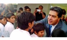 El gobernador Jorge Capitanich encabez� la apertura del ciclo lectivo 2015 del Nivel Primario con la inauguraci�n de la escuela N� 633 de R�o Muerto.