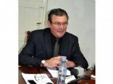 "Atlanto ""Pepe"" Honcheruk, intendente de Villa Berthet."