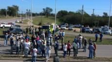 La protesta de productores en Las Bre�as dej� como saldo dos detenidos en lo que va del reclamo.