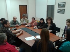 Encuentro de rectores y coordinadores pedag�gicos en S�enz Pe�a.