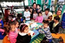 Feria del Libro Itinerante en Las Bre�as.