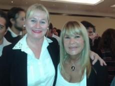 La principal referente del Frente renovador apoya a A�da Ayala.