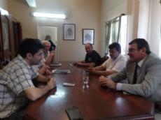 Honckeruck y Cipolini juntos en la reuni�n por la visita del referente del massismo a S�enz Pe�a.