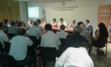Participaron representantes de Concejo Profesional de Agrimensores, Arquitectos e Ingenieros del Chaco, de la C�mara Argentina de la Construcci�n, y destacados profesionales independientes del Chaco.