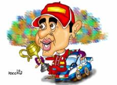 "Juan Manuel ""Pato"" Silva (Dibujo: NOVA)."