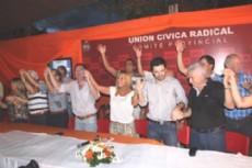 El radicalismo, de la mano de A�da Ayala, anunci� el consenso de candidaturas de cara a las PASO.