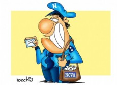 El cartero (Dibujo: NOVA).