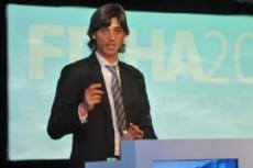 Durante el anuncio, el presidente del Instituto de Turismo, licenciado Jos� Ignacio Saife.