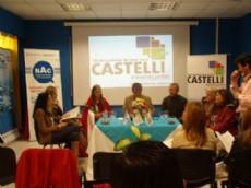 Conferencia de Nievas en la presentaci�n de los festejos por el aniversario de Juan Jos� Castelli.