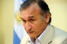 Sergio Soto, ministro de Educaci�n de la provincia.
