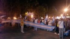 """Bajo el lema """"Todos somos Nisman"""" una cantidad de personas se manifest� en la plaza 25 de Mayo."""