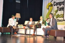 Durante el primer d�a del Congreso de Turismo Receptivo.