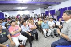 """Domingo Peppo enfatiz� en que �estos logros, como las obras ejecutadas en los municipios de Resistencia o Barranqueras que son grandes beneficiarios""""."""