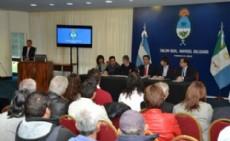 Capitanich firm� el convenio para su creaci�n en el Sal�n Obligado de Casa de Gobierno con la presencia del secretario de Promoci�n y Programas Sanitarios del Ministerio de Salud de la Naci�n Federico Koski.