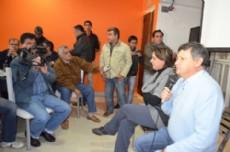 El precandidato a gobernador por la lista 652 PJM del Frente Chaco Merece M�s Domingo Peppo junto a la precandidata a intendente Susana Simonofski expresaron sus propuestas de gobierno de cara a las elecciones PASO.