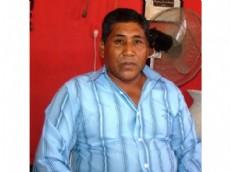 El presidente de la Comisi�n vecinal de la Chacra 31 el se�or Omar Alfredo Franco.
