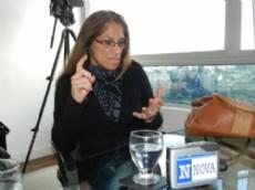 Nina Peloso, ex mujer de Ra�l Castells. (Foto: NOVA)