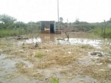Los usurpadores de a poco van rellenando la laguna para vender sus lotes y perjudican a los vecinos de la zona.